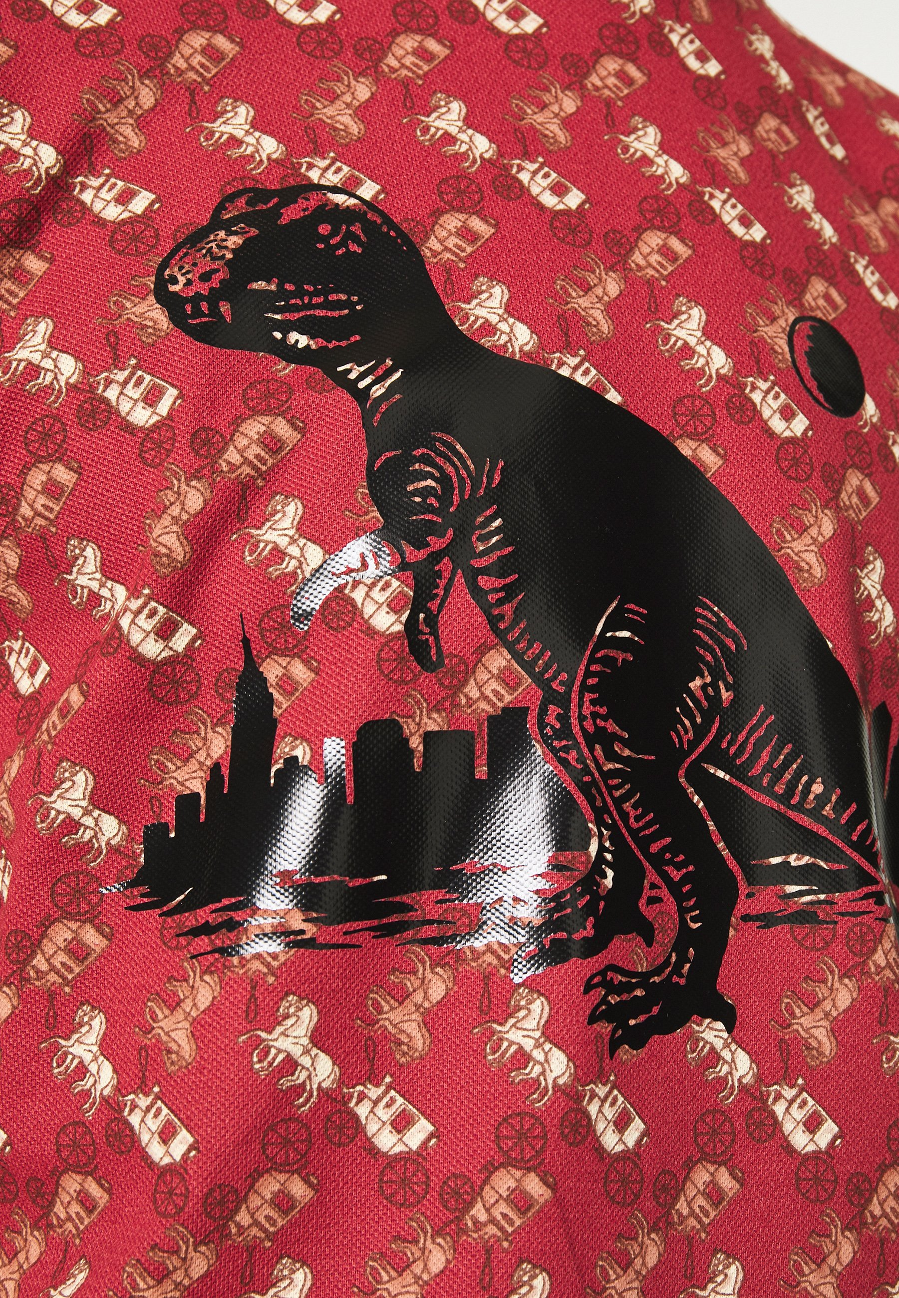 Coach CARRIAGE REXY IN THE CITY - T-shirt imprimé - red
