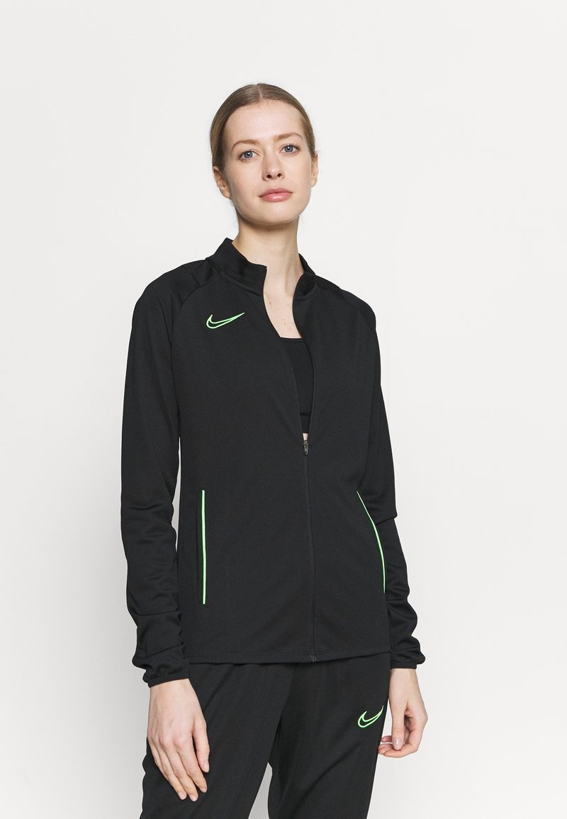Nike Performance - ACADEMY SUIT - Treningsdress - black/green strike
