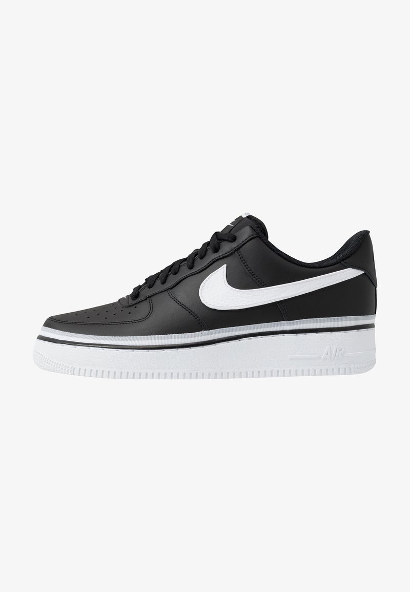 Nike Sportswear - AIR FORCE 1 '07 LV8  - Sneakers - black/white/wolf grey
