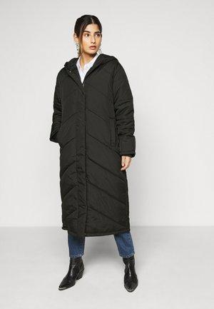 SLFJANNA PUFFER COAT PETITE - Vinterkåpe / -frakk - black