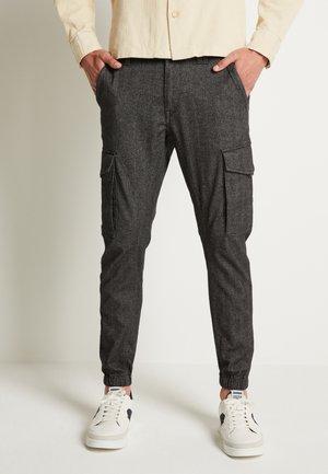 JJIPAUL JJFLAKE - Cargo trousers - grey