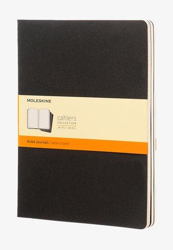 Cahier (3 Pack) XL liniert schwarz - Other accessories - black