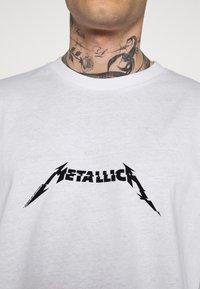 Revival Tee - METALLICA LONG SLEEVE - Long sleeved top - white - 4