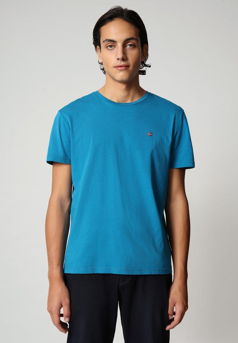 Napapijri - SALIS - T-shirt basic - mykonos blue