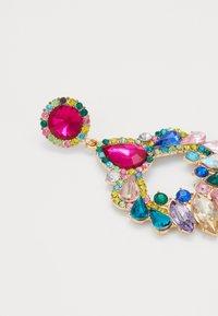 Pieces - PCABBY EARRINGS - Kolczyki - gold-coloured/multi - 2