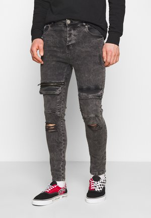 WINWOOD - Jeans Skinny Fit - charcoal
