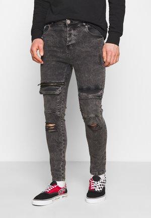 WINWOOD - Skinny džíny - charcoal