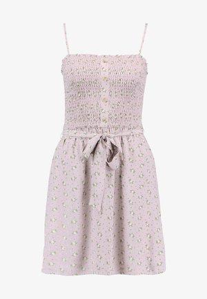 SMOCKED DRESS - Day dress - lavender ditsy