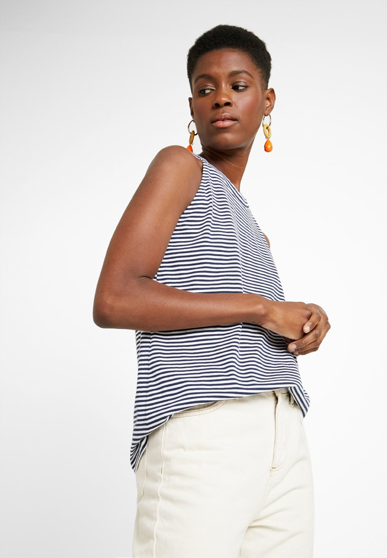 edc by Esprit - BOW BACK - Top - navy