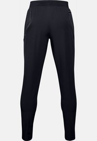 Under Armour - UA FLEX WOVEN TAPERED PANTS - Tracksuit bottoms - black - 1