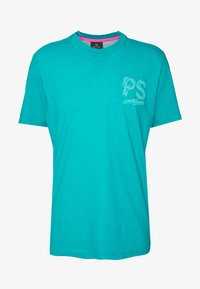 PS Paul Smith - T-Shirt print - neon blue - 3