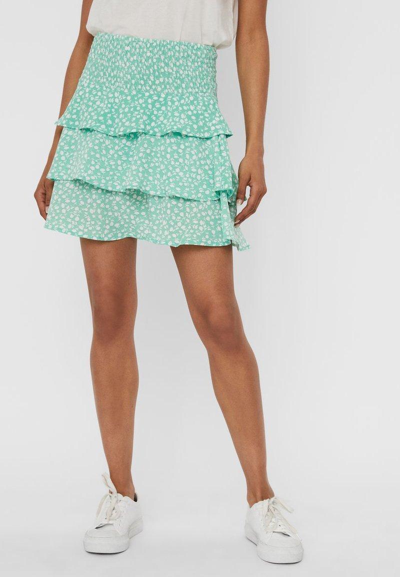 Vero Moda - A-line skirt - neptune green