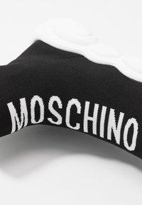 MOSCHINO - Korkeavartiset tennarit - black - 5