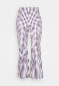 Monki - MINA TROUSERS - Trousers - lilac - 6
