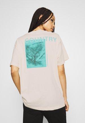 ENKULLA TEE - T-shirt med print - off-white