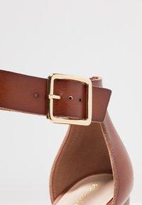 Madden Girl - HARPER - High heeled sandals - cognac paris - 2