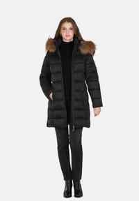 Cero & Etage - Winter coat - charcoal melange - 3
