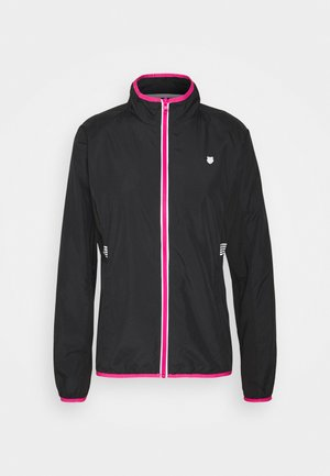 HYPERCOURT WARM UP JACKET - Training jacket - black beauty