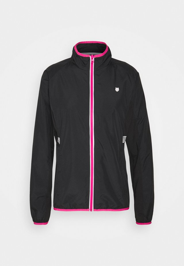HYPERCOURT WARM UP JACKET - Sportovní bunda - black beauty