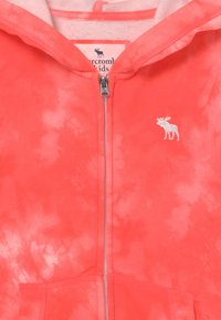 Abercrombie & Fitch - Zip-up hoodie - coral - 2
