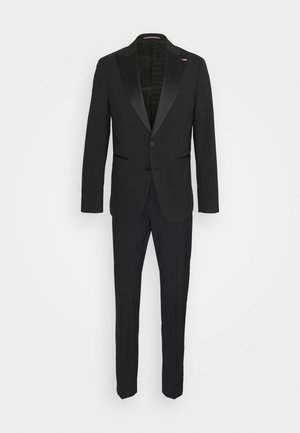 FLEX SLIM FIT TUXEDO - Garnitur - black