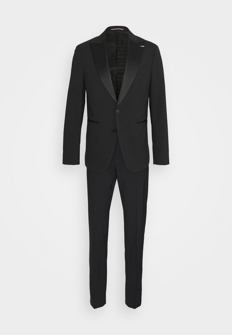 Tommy Hilfiger Tailored - FLEX SLIM FIT TUXEDO - Suit - black