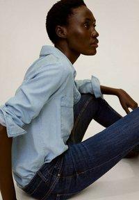 Mango - KIM - Jeans Skinny Fit - donkerblauw - 4