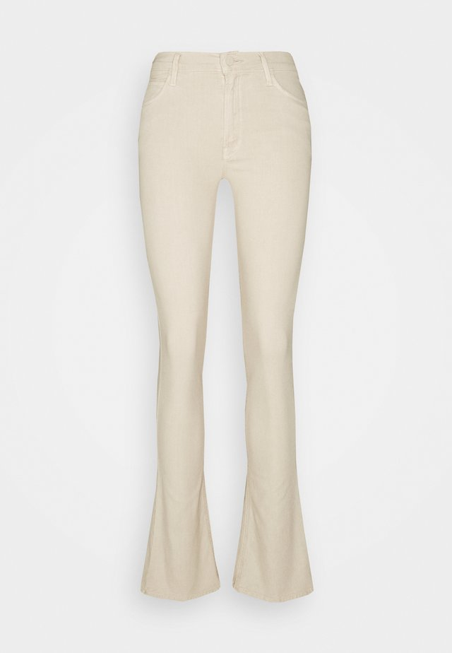 THE RUNAWAY - Bootcut jeans - toasted ivory