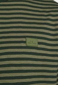 J.LINDEBERG - CHARLES STRIPE - Triko spotiskem - lake green - 4