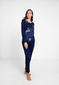 Triumph - SET - Pyjama set - navy blue - 1