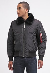 Alpha Industries - INJECTOR III - Bomber Jacket - black - 0