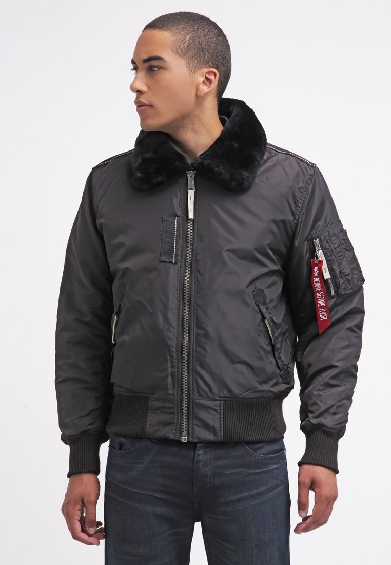 Alpha Industries - INJECTOR III - Bomber Jacket - black