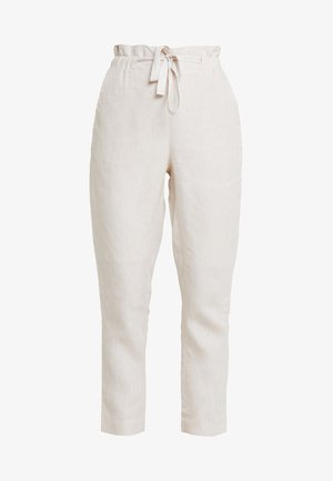 ESSENTIAL - Trousers - natural
