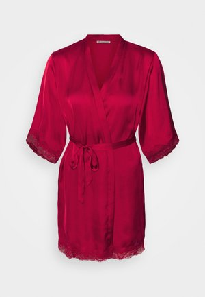 Ariana dressing gown gift set - Badekåpe - dark red
