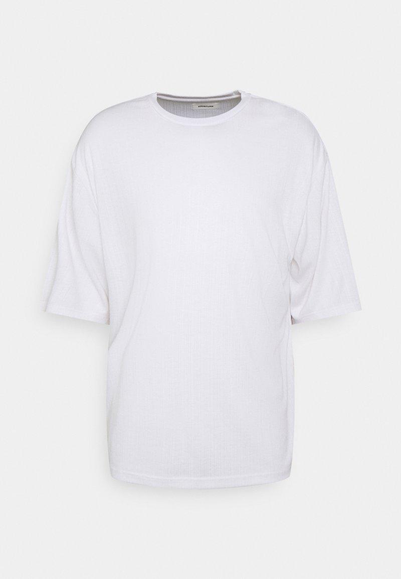 YOURTURN - UNISEX 3/4 SLEEVED - T-shirt - bas - white