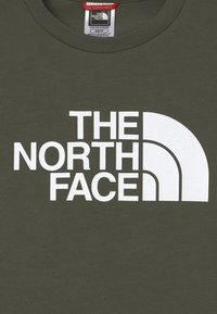 The North Face - YOUTH EASY UNISEX - Print T-shirt - green/white - 2