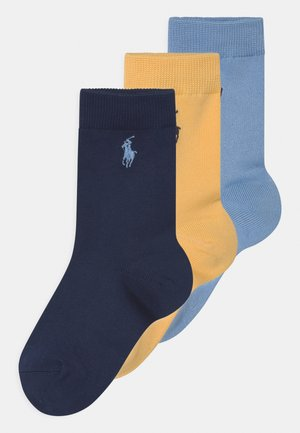 SUPERSOFT 3 PACK - Socks - navy
