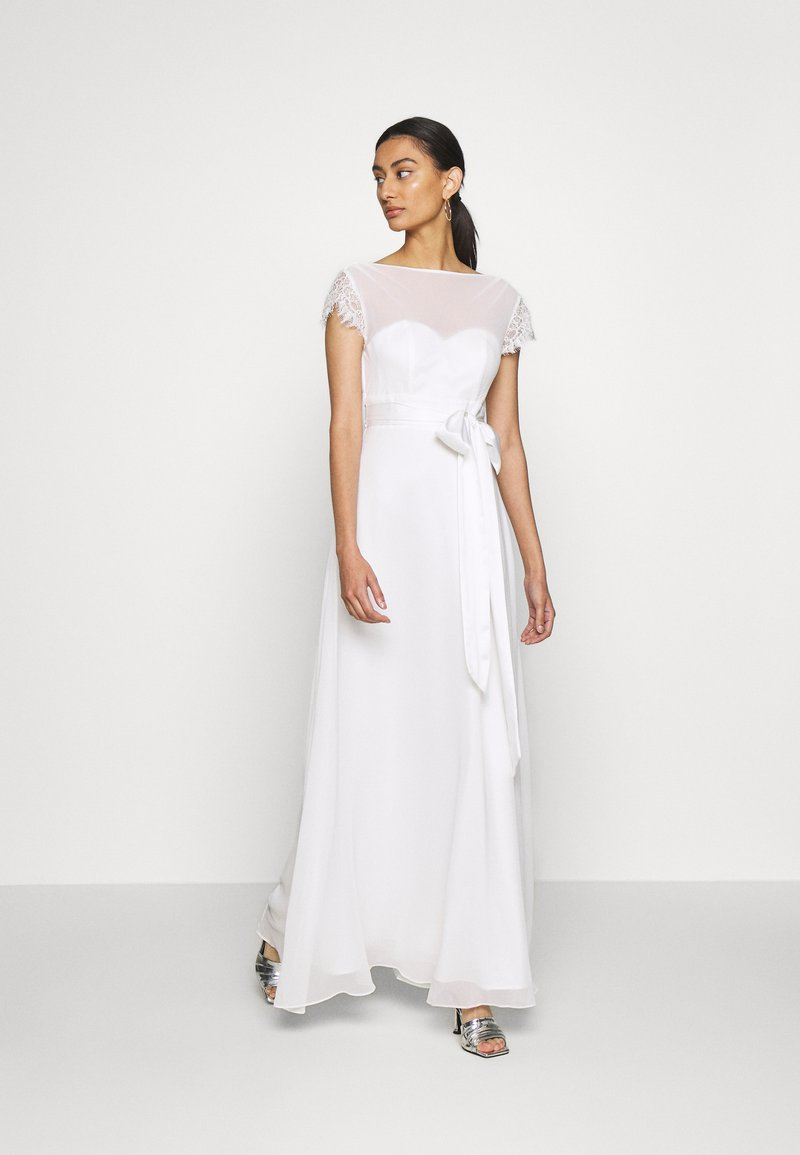 Dorothy Perkins - BRIDAL CAMILLA COWL BACK MAXI DRESS - Occasion wear - ivory
