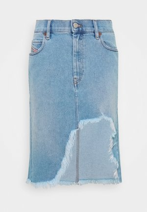 DE-ELLYOT SKIRT - Denim skirt - blue denim