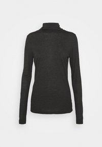 HIGHNECK - Maglietta a manica lunga - charcoal