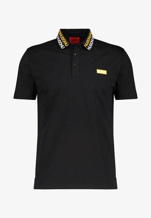 DAMAGO - Polo shirt - schwarz