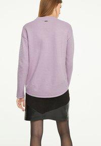 comma casual identity - Jumper - light lilac - 2