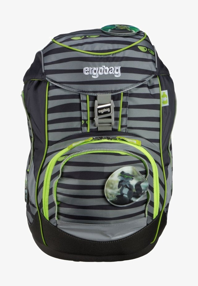 School bag - dark grey/ green