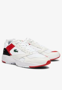 Lacoste - STORM 96  - Tenisky - white/red - 1