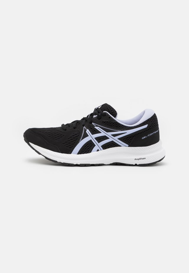 GEL CONTEND 7 - Neutral running shoes - black/lilac opal