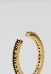 Orelia - JET SINGLE EAR CUFF - Earrings - pale gold-coloured - 4