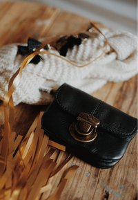 Gusti Leder - CHAPAL - Bum bag - schwarz/silber - 1