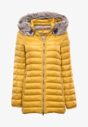 Winter jacket - gelb/neongelb