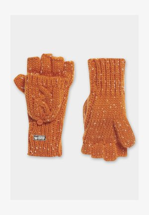 GRACIE  - Fingerless gloves - orange