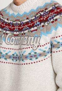 Best Company - CREW NECK FIN - Jumper - sabbia - 5